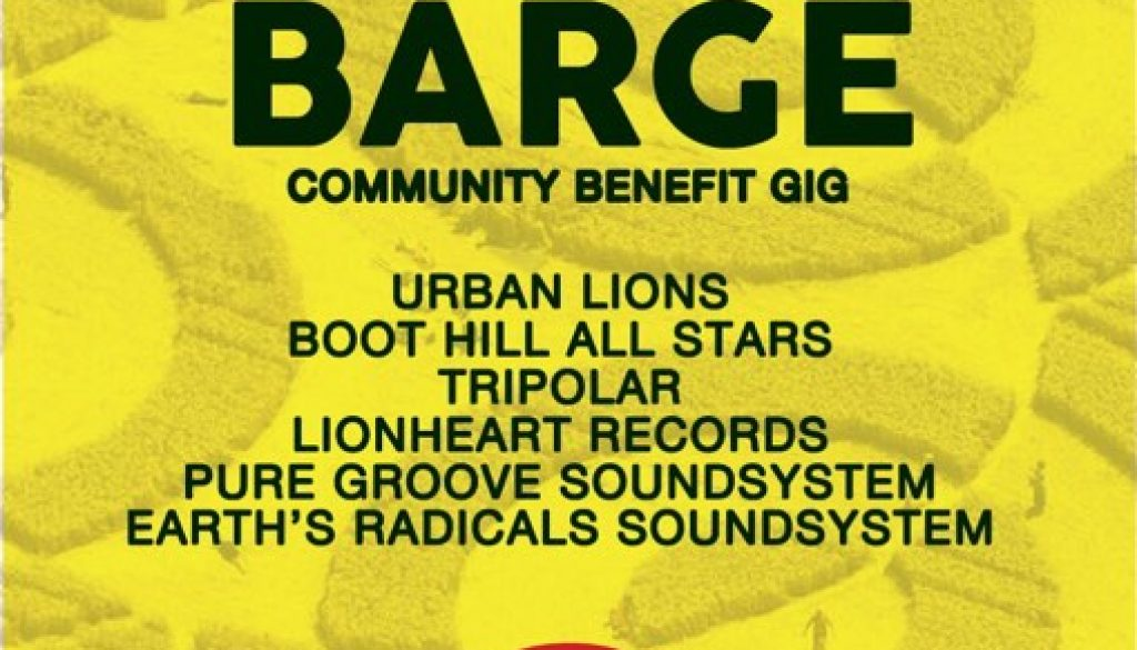 Save the Barge Community Benefit Gig